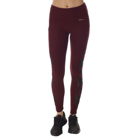 X By Gottex Solid Paneled Legging