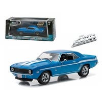 Brian\'s 1969 Chevrolet Yenko Camaro The Fast and The Furious-2 Fast 2 Furious Movie (2003) 1/43 Diecast Model Car by Greenlight