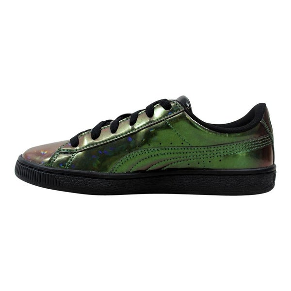 Shop Puma Basket Classic Holo Jr Puma Black 362468 01 Grade