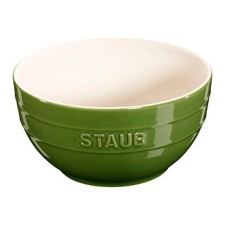 "Staub Ceramic 6.5"" Large Universal Bowl (Option: Basil)"