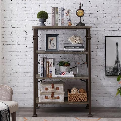 Steel Etagere Bookcase