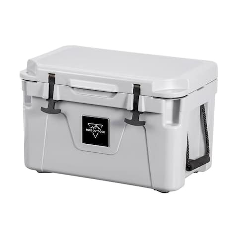Monoprice Emperor 25 Liter Cooler Securely Sealed - Gray - Pure Outdoor