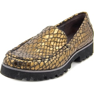 Donald J Pliner Rio2-A7 Round Toe Leather Loafer