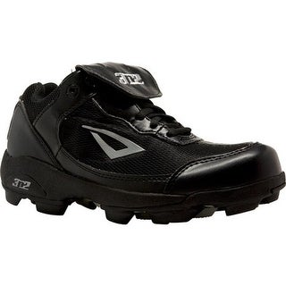 3N2 Children's Rookie Elite Baseball Cleat Black Synthtic Leather/Mesh