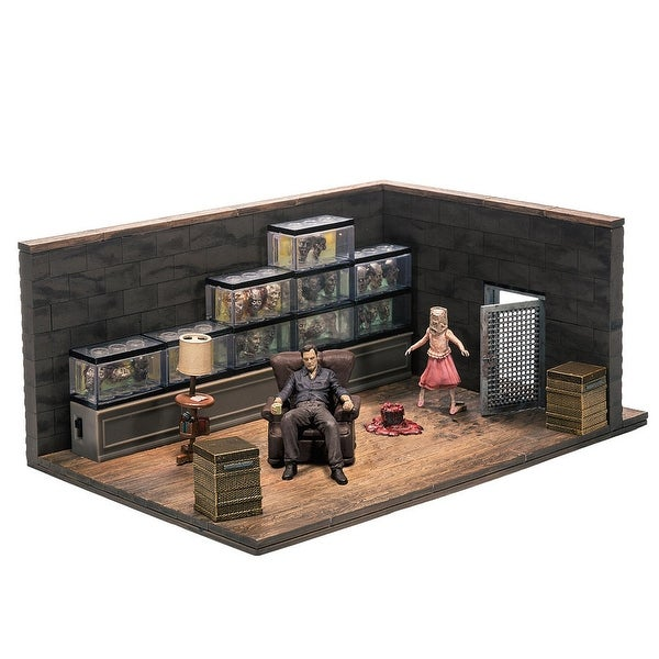 The Walking Dead Building Sets- The Governor'S Room - Multi