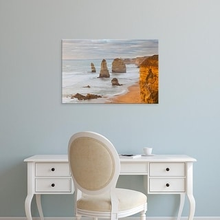 Easy Art Prints Martin Zwick's 'Shipwreck Coast Ii' Premium Canvas Art