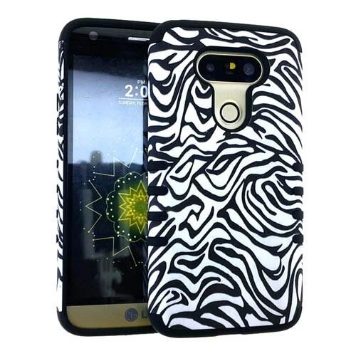 Rocker Series Slim Protector Case for LG G5 (Zebra)
