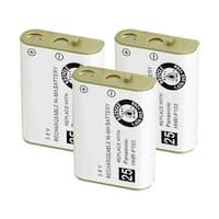 Replacement Battery For Panasonic KX-TG2382 Cordless Phones - P103 (750mAh, 3.6V, NiMH) - 3 Pack