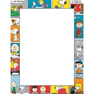 Peanuts Comic Blocks Computer Paper