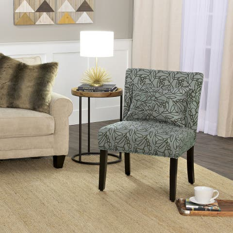 Porch & Den Alsea Accent Chair with Pillow