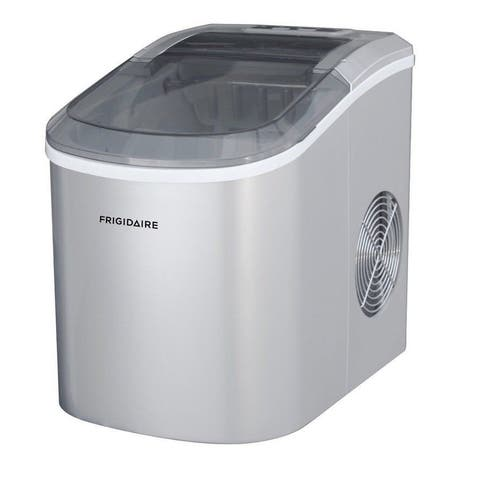 Frigidaire Ice Maker up to 26 lbs of ice Silver EFIC206-TG-SILVER Manufacturer Refurbished