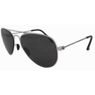 Eyekepper Stainless Steeel Frame G15 Lens Aviator Kids Children Sunglasses Silver