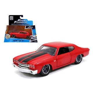 Dom\'s Chevrolet Chevelle SS Red Fast & Furious Movie 1/32 Diecast Model Car by Jada