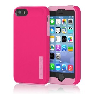 Incipio DualPro Impact Absorbing Hard Shell Case for iPhone 5/5S (Pink/Pink)