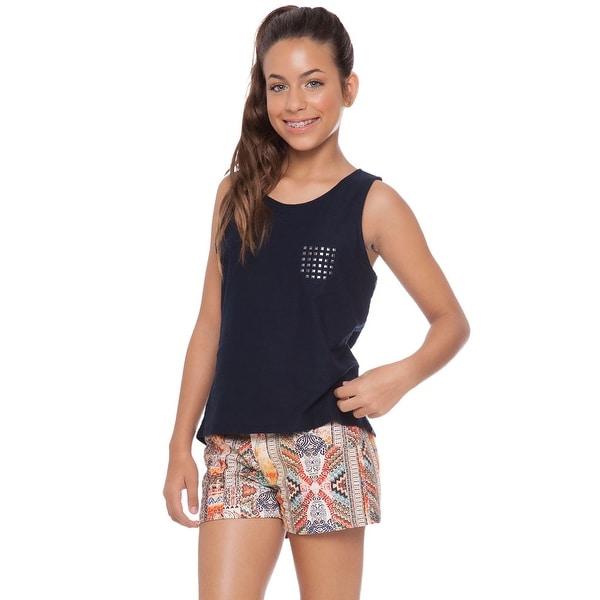 Tween Girl Sleeveless Tank Top Summer Clothes for Teens Pulla Bulla 10-16 Years