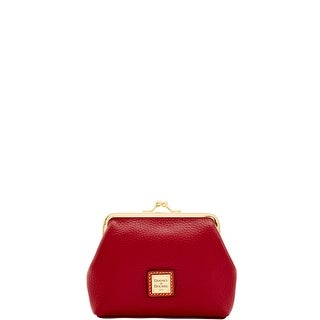 Dooney & Bourke Pebble Grain Large Framed Purse (Introduced by Dooney & Bourke at $58 in Jul 2017) - CRANBERRY
