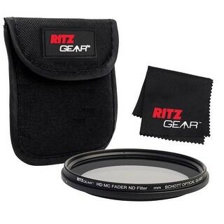Ritz Gear 55mm Premium HD MC Fader ND Filter w/ Schott Optical Glass