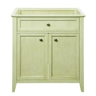 """DecoLav 5232 Jordan 30.75"""" Wood Vanity Cabinet Only with Inset Front Doors"""