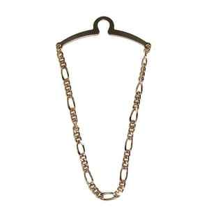 Competition Inc. Men's Figaro Style Link Tie Chain - One Size