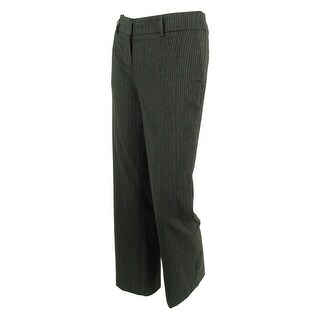 Jones New York Women's Pinstripe Zoe Dress Pants - charcoal multi