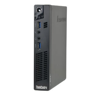 Lenovo ThinkCentre M92P Tiny 2.9GHz Core i5 6GB RAM 128GB SSD Windows 10 Computer (Refurbished)