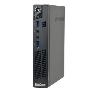 Lenovo ThinkCentre M92P Tiny Pentium G870 3.1GHz CPU 6GB RAM 250GB HDD Windows 10 Pro Computer (Refurbished)