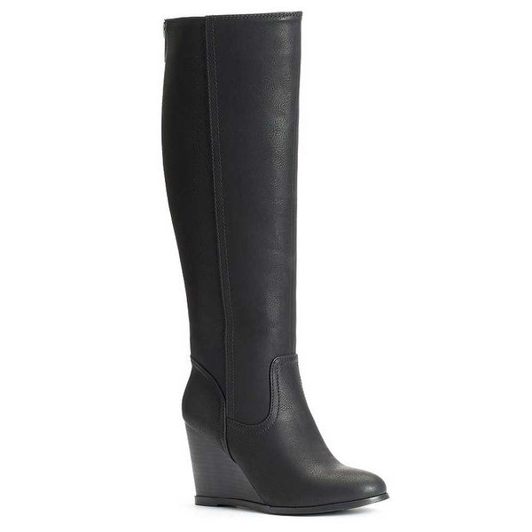 SO Women's Tall Wedge Boots