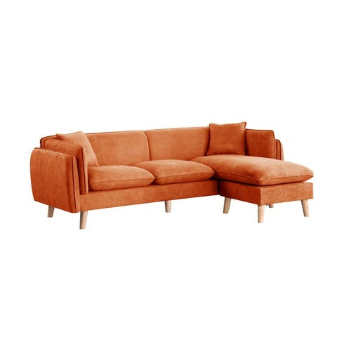 Brayden Fabric Sectional Sofa Chaise