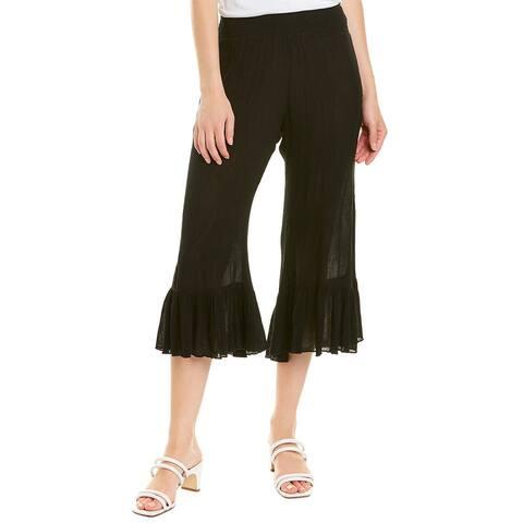 Elan Ruffle Bottom Pant
