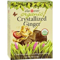 Ginger People Organic Crystallized Ginger Box - 4 oz - Case of 12
