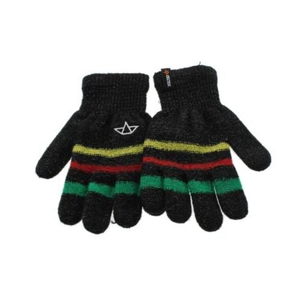 Celtek Womens Everyday Gloves Knit Striped - L/XL