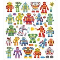 Robots - Multicolored Stickers