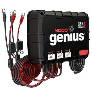 Noco Genius Gen3 30A 3 Bank Onboard Battery Charger - GEN3