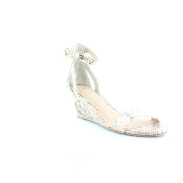 Thalia Sodi Areyana Women's Sandals & Flip Flops Champagne Snake