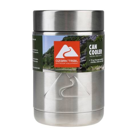 Drink Sleeve Vacuum-sealed Stainless Steel Can Cooler, 12 oz