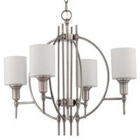 Craftmade 37224 Meridian 4 Light Chandelier - 25 Inches Wide