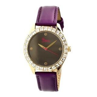 Boum Chic Women's Quartz Watch, Genuine Leather Band