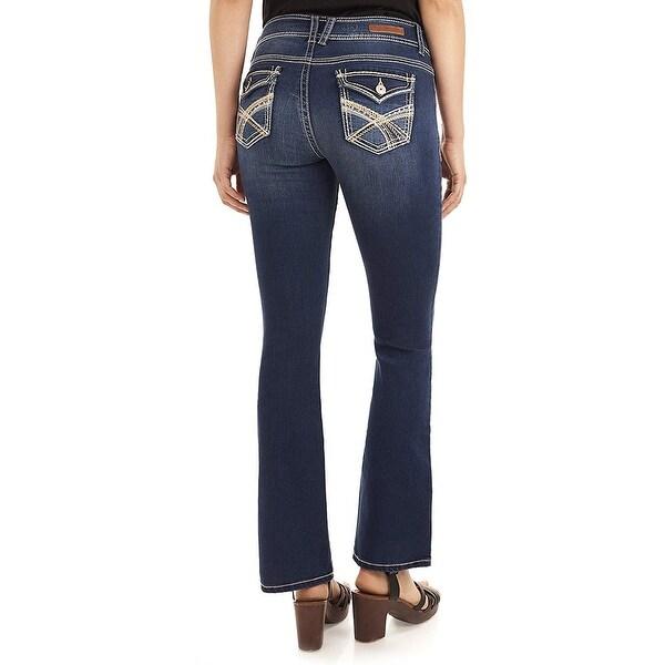 WallFlower Womens Plus Size Luscious Curvy Stretch Bootcut Denim Jeans
