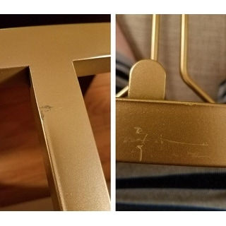 Metropolitan Mirrored Glass Top Metal Bar Kart by iNSPIRE Q Bold