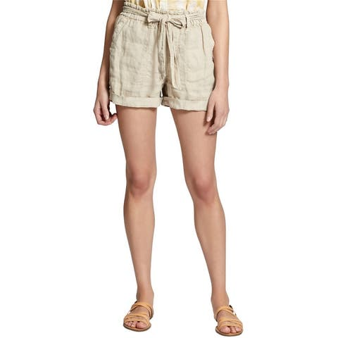 Sanctuary Clothing Womens Tie Waist Casual Walking Shorts