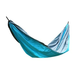 Konoo Authorized Courtyard Nylon Double Nest Swing Sleeping Bed Hammock Sky Blue