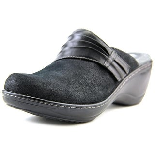 Softwalk Mason N/S Round Toe Suede Clogs