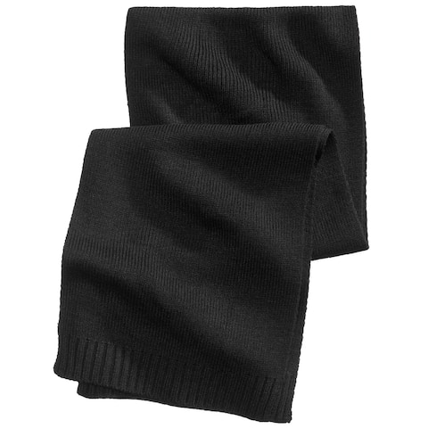 Club Room Mens Solid Scarf - One Size