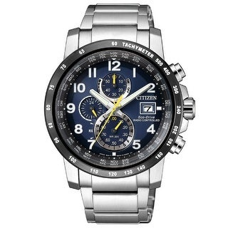 Link to Citizen Men's AT8124-91L 'Eco-Drive' Chronograph Stainless Steel Watch - Blue Similar Items in Men's Watches