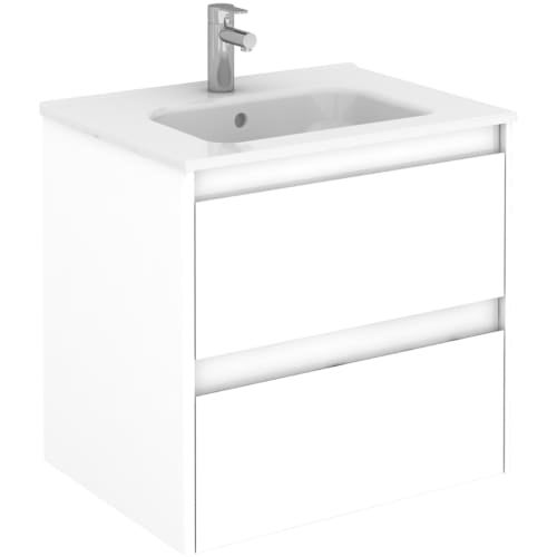 Ws Bath Collections Ambra 60f 24 Single Vanity Set With Engineered Wood C