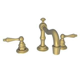 Newport Brass 930L Chesterfield Double Handle Widespread Lavatory Faucet with Metal Lever Handles