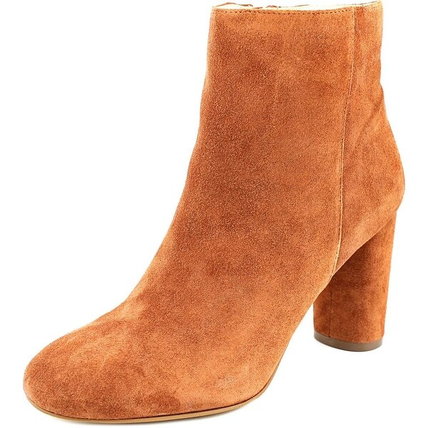 INC International Concepts Taytee Round Toe Leather Ankle Boot