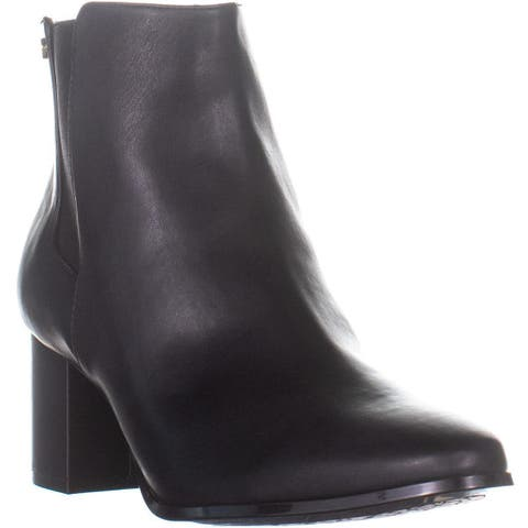 Calvin Klein Fiorella Fashion Boot, Black - 10 US / 40.5 EU