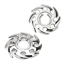 Tribal Swirl Clip On Nipple Ring (Sold Individually)