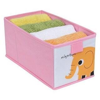 Redmon 7109PK Kids Storage Box with Elephant - Pink